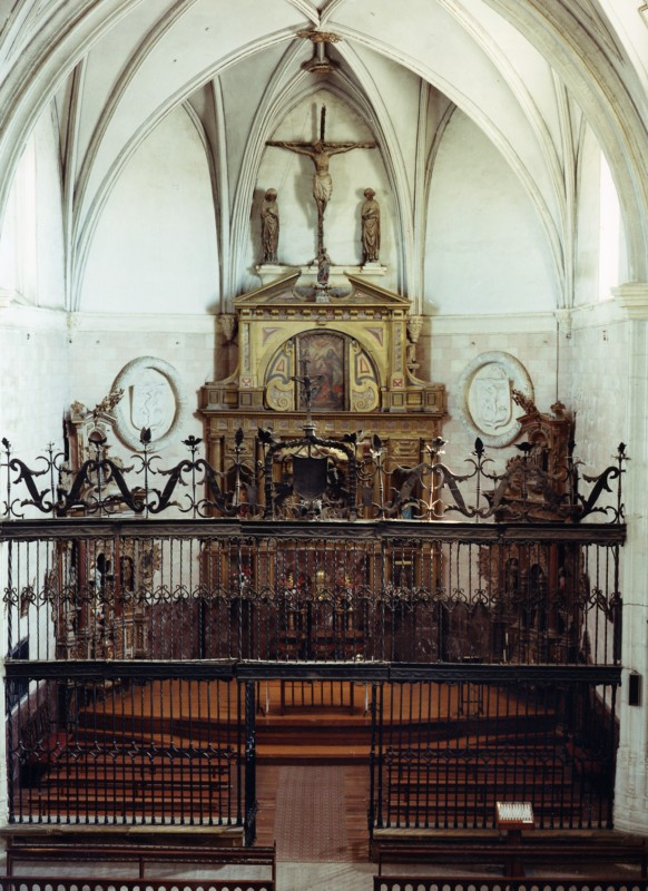 Retablo mayor Iglesia
